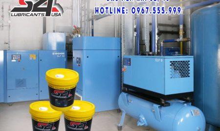 Dầu máy nén khí trục vít, báo giá dầu máy nén khí trục vít chính hãng