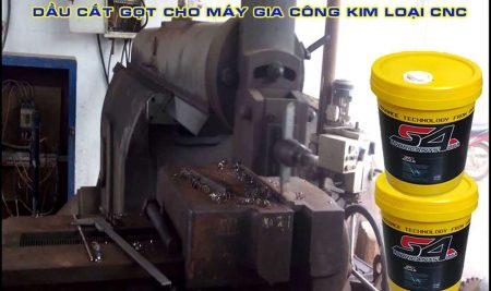 Dầu cắt gọt cho máy gia công kim loại CNC