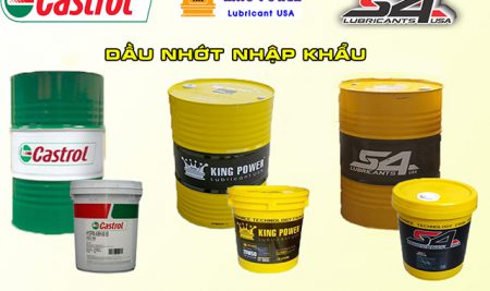 Castrol và các loại dầu nhớt phổ biến nhất hiện nay