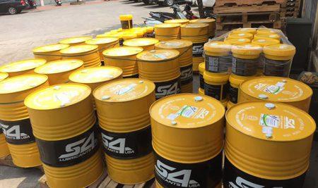 Dầu thủy lực VG 46 hàng chính hãng, giá dầu thủy lực 46 là bao nhiêu