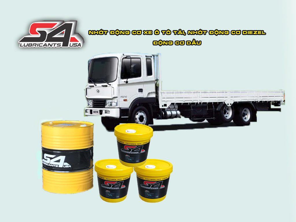 Dầu nhớt cho xe tải, khi nào cần thay nhớt cho xe tải