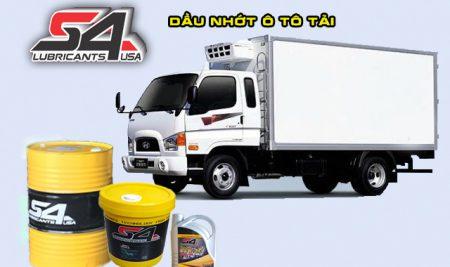 Bảng giá dầu nhớt động cơ xe ô tô tải, nhớt động cơ Diezel, động cơ dầu