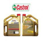 Dầu nhớt castrol 5w30 cho động cơ xăng hàng chính hãng