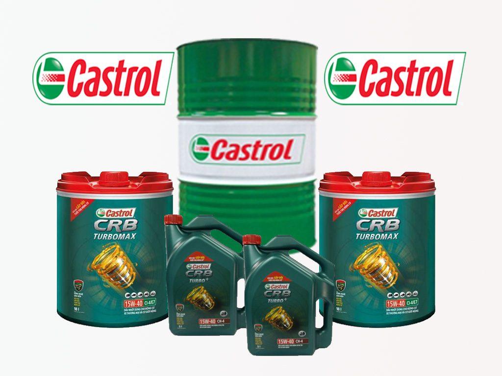 Giá dầu nhớt Castrol CRB 15W40, hàng chính hãng tại Hồ Chí Minh