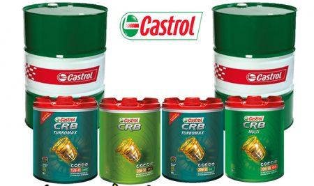 Dầu nhớt Castrol cho xe tải, xe cơ giới hàng chính hãng giá tốt