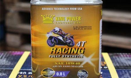 Nhớt Racing 4T 10W40 King Power có tốt không?Nhớt Racing chính hãng tại Hồ Chí Minh