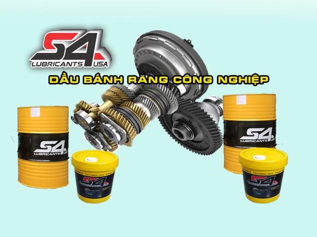Dầu bánh răng S4 nhập khẩu chính hãng tại Hồ Chia Minh