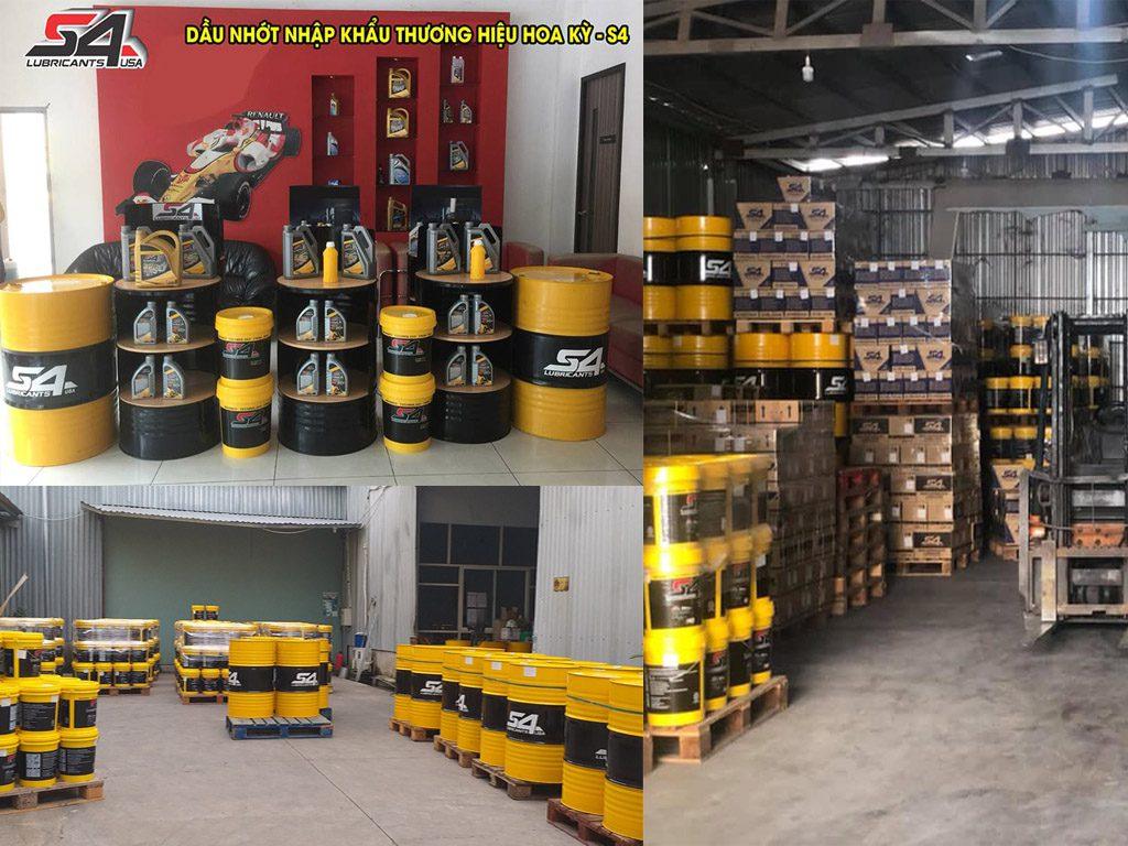 Tổng kho dầu nhớt Miền Nam- Tìm nhà phân phối trên toàn quốc.