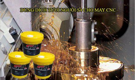 Nước tưới nguội trong gia công kim loại, nước làm mát máy CNC