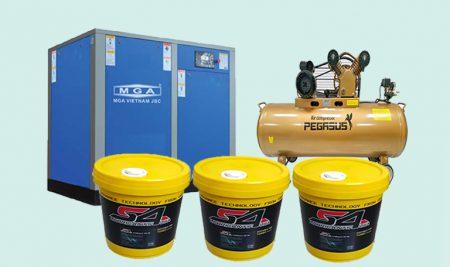 Máy nén khí dùng dầu nào tốt? các loại dầu chuyên dụng cho máy nén khí